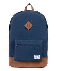 Herschel Supply Co.   Blue Heritage Backpack for Men   Lyst