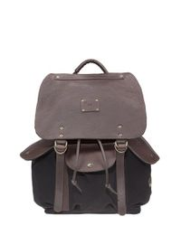 Will Leather Goods | Black 'lennon' Backpack for Men | Lyst