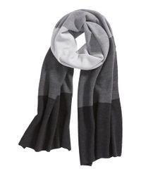 Eileen Fisher - Gray Merino Wool Scarf - Lyst