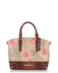 Brahmin - Multicolor Duxbury Print Leather Satchel - Lyst