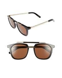 Pared Eyewear - Brown Camels & Caravans 50mm Retro Sunglasses - - Lyst