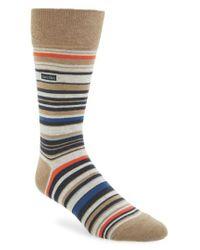 Calvin Klein - Multicolor Multistripe Emblem Socks for Men - Lyst