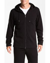 UGG - Black Ugg 'bownes' Zip Hoodie for Men - Lyst
