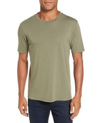 Goodlife - Green Crewneck T-shirt for Men - Lyst