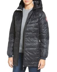 Canada Goose | 'camp' Slim Fit Hooded Packable Down Jacket, Black | Lyst