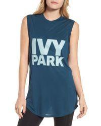 Ivy Park   White Logo Tank   Lyst