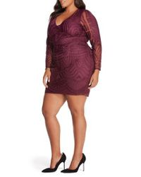 REBEL WILSON X ANGELS - Multicolor Embroidered Mesh Dress - Lyst