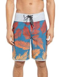Rip Curl - Gray Mirage Mason Rockies Board Shorts for Men - Lyst