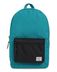 Herschel Supply Co. - Green Settlement Backpack - Lyst