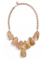 Kendra Scott | Brown 'harlow' Necklace | Lyst