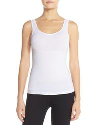 Yummie By Heather Thomson | White 'stephanie' Shaping Tank | Lyst