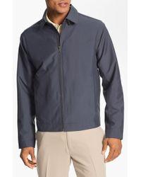 Cutter & Buck | Black 'weathertec Mason' Wind & Water Resistant Jacket for Men | Lyst