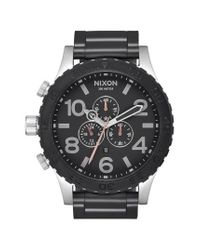Nixon | Black 51-30 Chronograph Watch for Men | Lyst