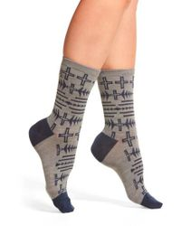 Pendleton   Gray Thunder Quarrel Anklet Socks   Lyst