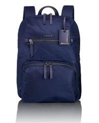 Tumi | Blue 'voyageur Halle' Nylon Backpack | Lyst