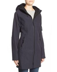 Ilse Jacobsen - Blue Regular Fit Hooded Raincoat - Lyst