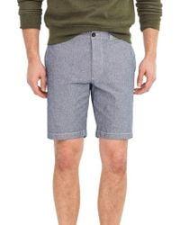 J.Crew Blue J.crew Stretch Chambray Shorts for men