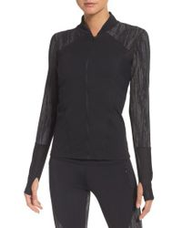 Zella - Black Fearless Running Jacket - Lyst
