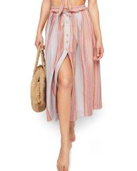 Free People - Pink Endless Summer By Heatin' Up Top & Skirt - Lyst