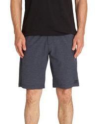 Billabong - Blue Crossfire X Mid-length Shorts for Men - Lyst