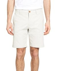 Tailor Vintage | White Performance Chino Shorts for Men | Lyst