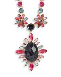 Kate Spade - Purple Night Sky Pendant Statement Necklace - Lyst