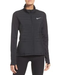 Nike - Black Essentials Running Jacket - Lyst