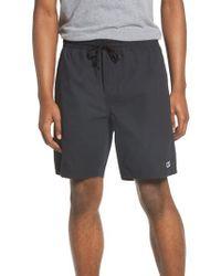 Obey - Black Legacy Ii Drawstring Shorts for Men - Lyst