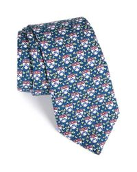 Vineyard Vines | Blue University Of Pennsylvania Ivy Silk Tie for Men | Lyst