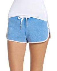 The Laundry Room | Blue Cozy Crew Lounge Shorts | Lyst