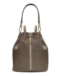Elizabeth and James - Brown 'cynnie' Leather Sling Backpack - Lyst
