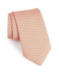 Vineyard Vines | Pink Albatross Print Silk Tie for Men | Lyst