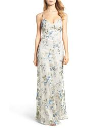 Jenny Yoo - Multicolor Julianna Embroidered Gown - Lyst