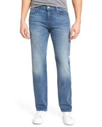 7 For All Mankind - Blue 7 For All Mankind 'standard' Straight Leg Jeans for Men - Lyst