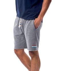 Sol Angeles - Gray Sol Waves Cutoff Sweat Shorts for Men - Lyst