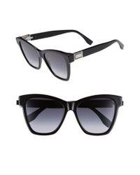 Fendi Black Basic 55mm Sunglasses