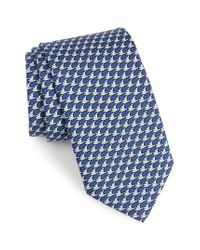 Vineyard Vines | Blue Albatross Print Silk Tie for Men | Lyst