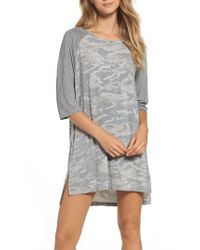 Honeydew Intimates | Gray Jersey Sleep Shirt | Lyst