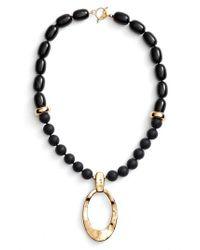 Simon Sebbag | Metallic Onyx Pendant Necklace | Lyst