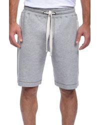 2xist | Gray Terry Shorts for Men | Lyst