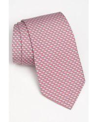 Vineyard Vines | Pink 'whale' Silk Tie for Men | Lyst