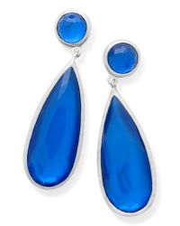 Ippolita - Blue Wonderland Teardrop Earrings - Lyst