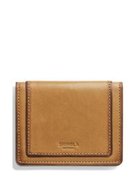 Shinola - Multicolor Outlaw Folding Card Case - Lyst