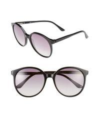 Oxydo | Black 56mm Retro Sunglasses | Lyst