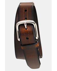 Fossil | Brown 'hanover' Leather Belt for Men | Lyst