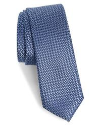 Calibrate - Blue Talley Abstract Silk Tie for Men - Lyst