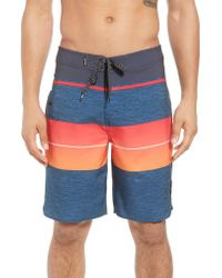 Rip Curl - Orange Mirage Eclipse Board Shorts for Men - Lyst