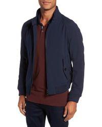 BOSS | Blue Corva Technical Jacket for Men | Lyst