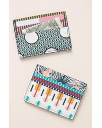 Anthropologie - Multicolor X Suno Card Case - - Lyst
