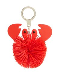 Kate Spade - Red Shore Thing - Crab Bag Charm - Lyst
